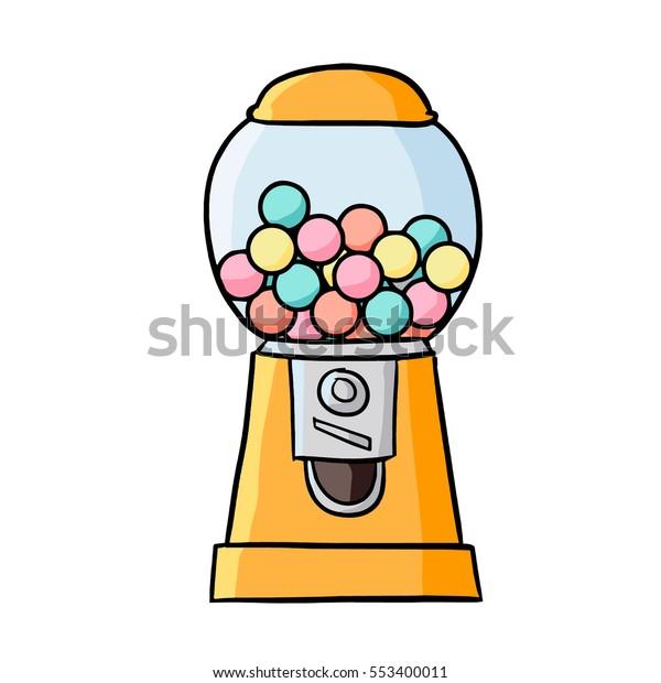 Gumball clipart candy machine -   Gumball machine, Bubble gum machine,  Gumball