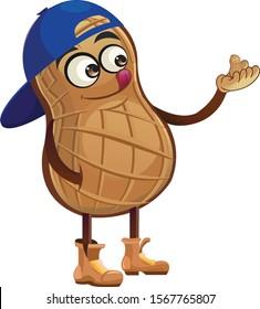 Funny cartoon character from peanut.