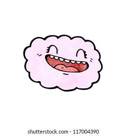 funny cartoon cloud