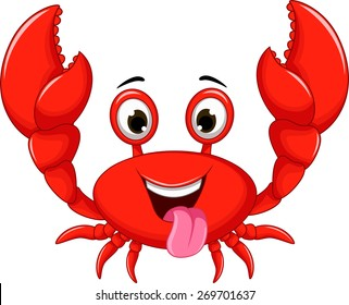 crab cartoon images stock photos vectors shutterstock rh shutterstock com crab cartoon images free crab cartoon images free