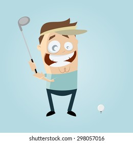Funny Golf Images, Stock Photos & Vectors | Shutterstock on
