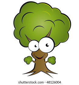 funny tree images stock photos vectors shutterstock rh shutterstock com Palm Clip Art Palm Clip Art