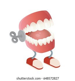 funny chattering teeth toy