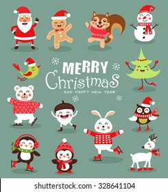 Christmas Cartoon Images, Stock Photos & Vectors   Shutterstock