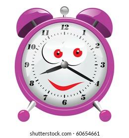 Funny Clock Illustration
