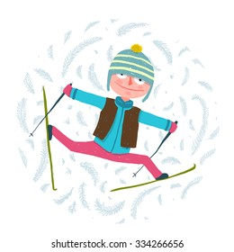 Funny Skier Images, Stock Photos & Vectors | Shutterstock