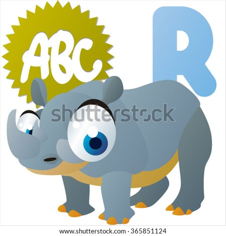 Image of: Schadenfreude Funny Comic Reading Animals Abc Is For Rhinoceros Shutterstock Funny Comic Reading Animals Abc Stock Vector royalty Free