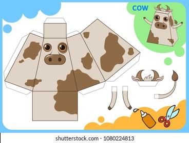 Imágenes, fotos de stock y vectores sobre Animal Paper Craft