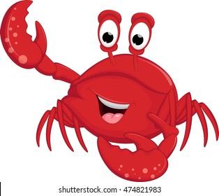 funny crabs cartoon
