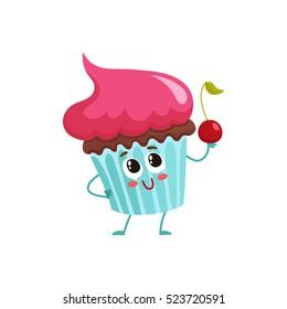 cupcake cartoon images stock photos vectors shutterstock