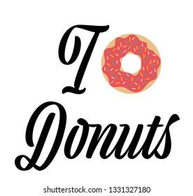 a funny donut design