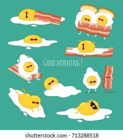 Funny eggs set