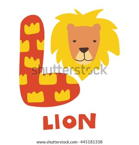 Rh Shutterstock Com Letter L Lion Craft Template Links Of London Bst Pr