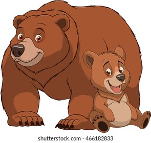 Cartoon Bear Images, Stock Photos & Vectors | Shutterstock