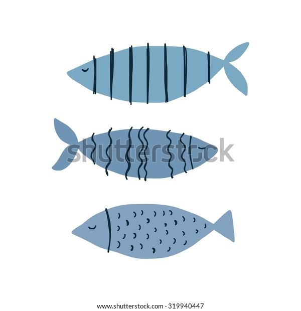 funny fish background card