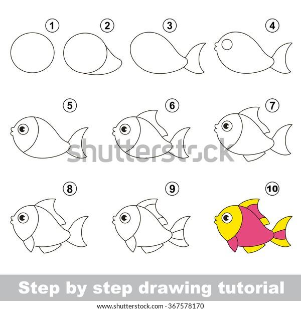 fisch zeichnen