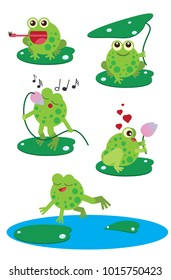 Funny Frog illustration