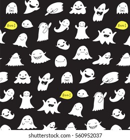 funny ghost pattern