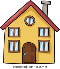 Cartoon House Images, Stock Photos & Vectors | Shutterstock