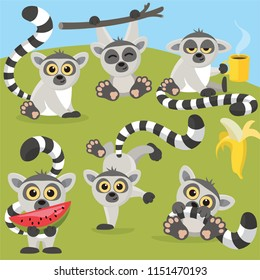 Funny Lemurs Party