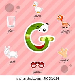 Funny letter G