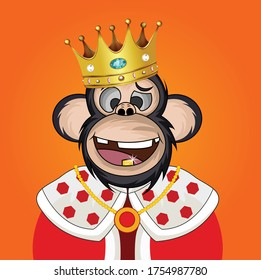Funny Monkey Crown Images Stock Photos Vectors Shutterstock Watch online and download dora the explorer cartoon in high quality. https www shutterstock com image vector funny monkey king cartoon design anyone 1754987780