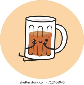 funny mug of beer
