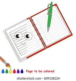 Similar Images, Stock Photos & Vectors of Funny Notebook ...