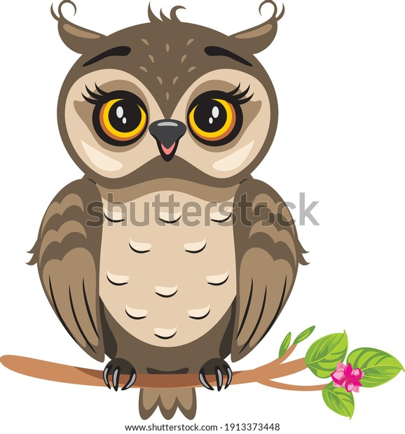funny-owlet-sitting-on-flowering-600w-19