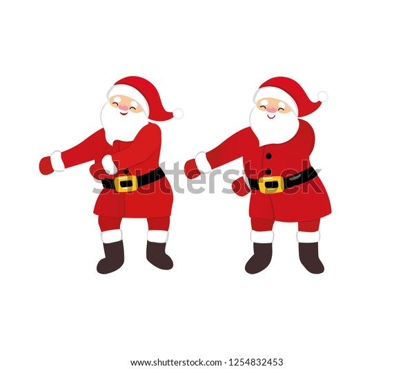 Funny Santa Dance Floss Like Boss Stock Vector Royalty Free