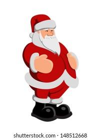 Funny Santa laus