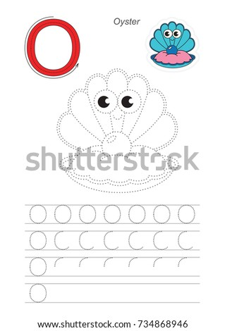 Funny Seashell Oyster Pearl Dot Dot Stock Vector Royalty Free
