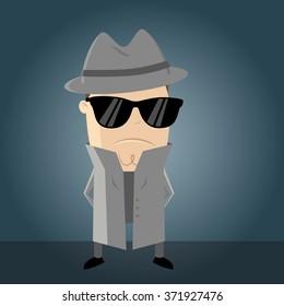 funny secret agent
