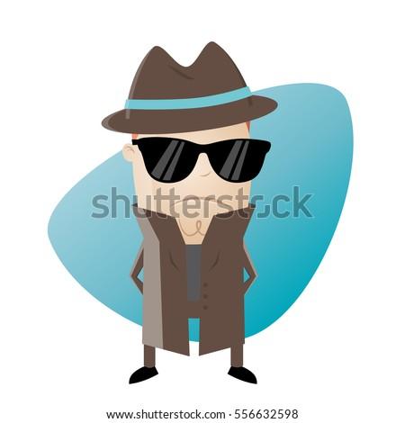 De Agent 556632598 Regalías Vector Stocklibre Funny Secret OukXZiTP