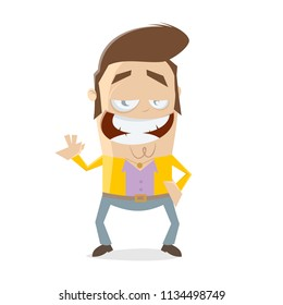 funny seventies guy clipart