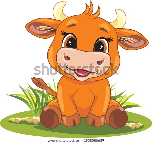 funny-smiling-baby-bull-on-600w-19380856