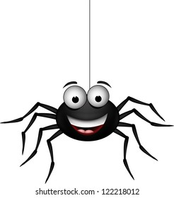funny spider cartoon for you design