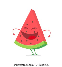 funny watermelon clipart