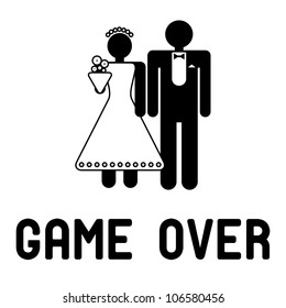 Wedding Game Over Images Stock Photos Vectors Shutterstock