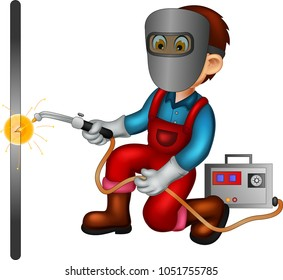 weldercartoon images stock photos amp vectors shutterstock