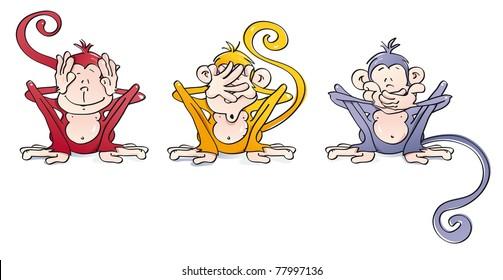 funny wise monkeys