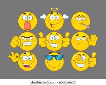Emoticones Malade Images Photos Et Images Vectorielles De Stock Shutterstock