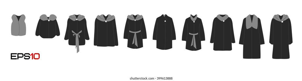 Fur coats design