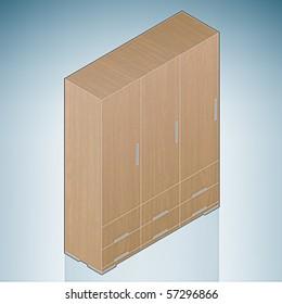 Furniture: Bedroom Cupboard