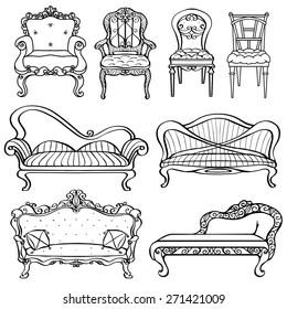 Astounding Vectores Imagenes Y Arte Vectorial De Stock Sobre Sofa Pdpeps Interior Chair Design Pdpepsorg