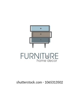 Furniture and home decor, template for logo