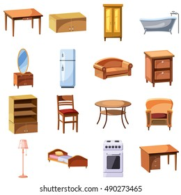 Cartoon Furniture Images Stock Photos Vectors Shutterstock