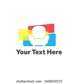furniture logo, home appliances, business logo, simple logo, modern, furniture, icon, vector, design, business, symbol, sign, logo, home, concept, illustration, company, interior, template, shape, iso