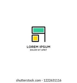 Furniture logo. modern template design. vector illustration