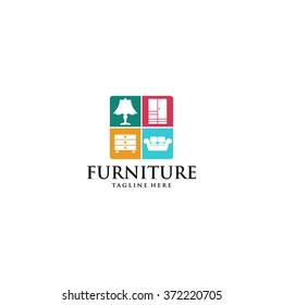 Furniture Logo Template